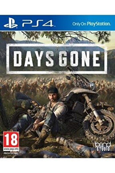 Ps4 Days Gone - Orjinal Oyun