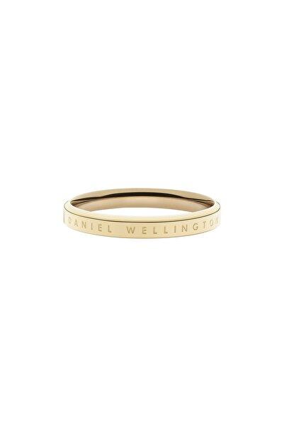 Daniel Wellington Classic Ring Yellow Gold  66 Çelik Yüzük
