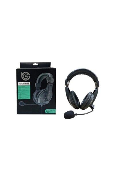 Platoon Kulaküstü Siyah Mikrofonlu Pc Kulaklık Pl-2363