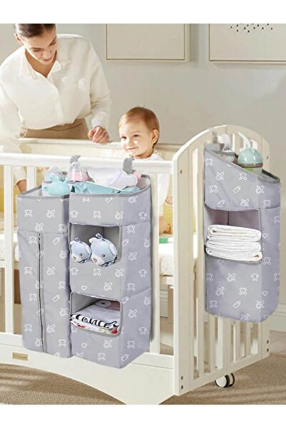 Lucky Day Beşik Organizer Beşik Yanı Düzenleyici Bebek Odası Organizer