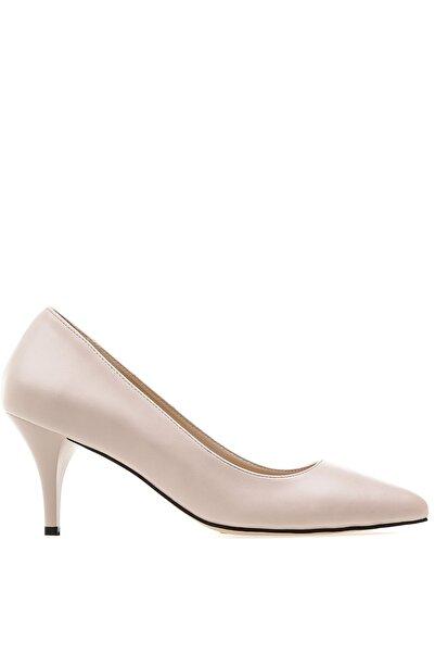 Fabrika Kadın Bej Topuklu Ayakkabı