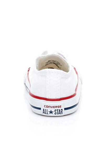 converse Beyaz Bebek 7J256C Chuck Taylor Allstar Sneaker