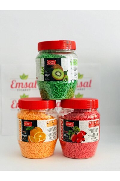 GÖKÇE ORALET Kivi+kuşburnu+portakal 300 gr.*3 Adet