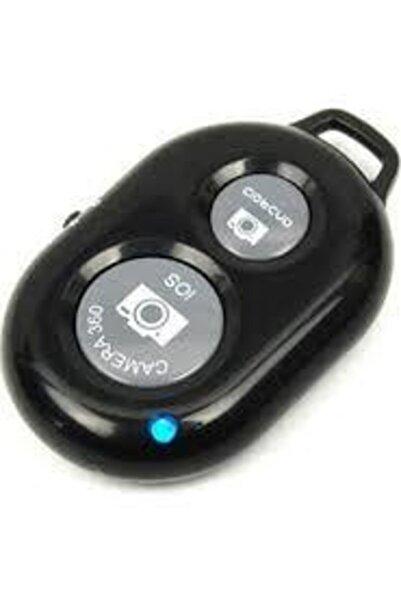 AldımGeldi Iphone Plus S Se 2 5 6 7 8 X 11 12 Uyumlu Selfie Çubuğu Uzaktan Fotoğraf Çekim Kumandası Blue