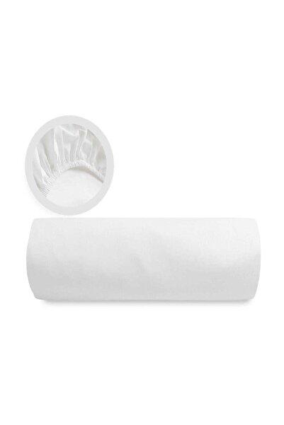 Şanlı Battal Boy (1.80*2.00 Ölçülerinde) Penye Lastikli Çarşaf-beyaz
