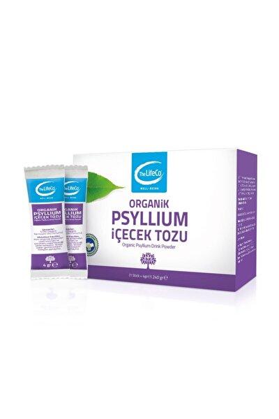 The LifeCo Organik Psyllium (Karnıyarık Otu) İçecek Tozu 240 gr (4 gr X 60lı Stick)