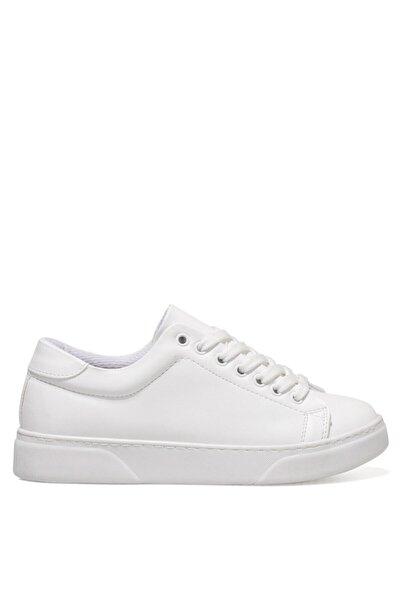 İnci Susan Beyaz Kadın Havuz Taban Sneaker