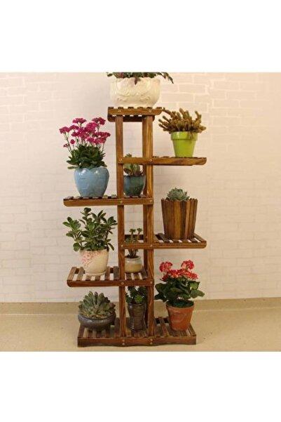 AHŞAP ATÖLYE Çiçeklik Kitaplık Saksılık Balkon Bahçe Saksı Standı Saksı Rafı
