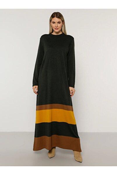 ALİA Büyük Beden Triko Elbise