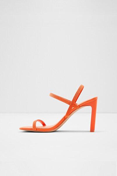 Aldo Okurr Kadın Turuncu Topuklu Sandalet