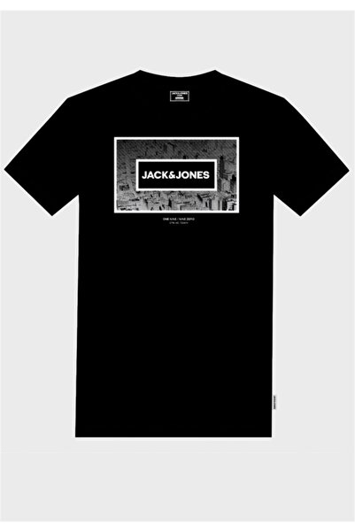 Jack & Jones Jack&jones Jcotunel Tee Ss Crew Neck Fst Erkek T-shirt-12174369