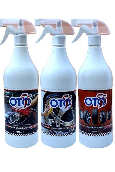 OTO55 Seramik Etkili Cila + Jant Temizleme + Lastik Parlatıcı