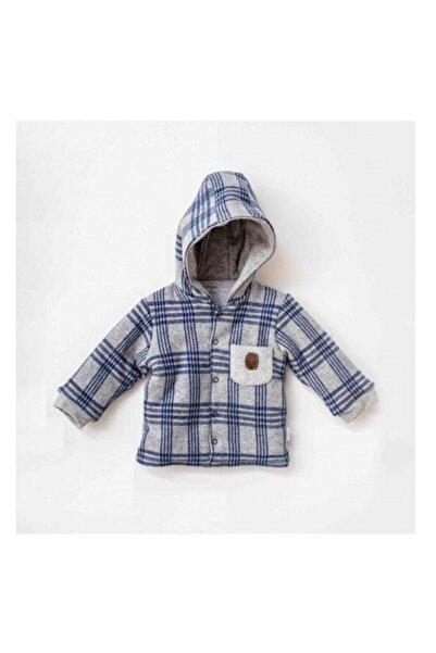 andywawa Erkek Bebek Gri Kışlık Ceket