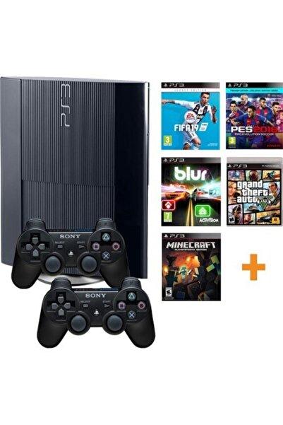 Sony Ps3 500 Gb Konsol+200 Oyun+2 Kol(teşhir)