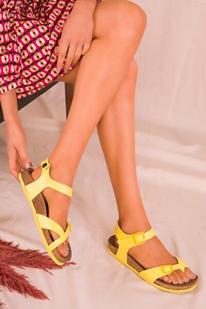 SOHO Sarı Kadın Sandalet 15922
