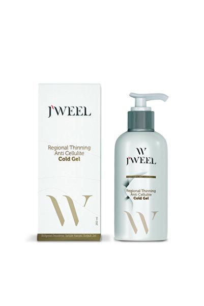 J'Weel Profesyonel Selülit Ve Çatlak Karşıtı- Bölgesel Incelme Için Soğuk Lipoliz Jel 250 ml
