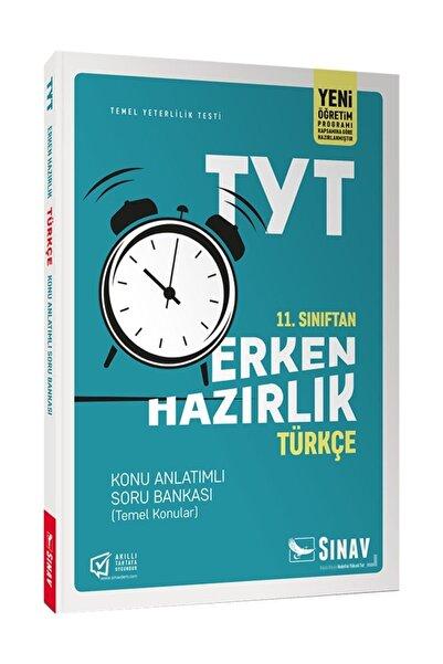 Sınav Yayınları 11. Sınıf Tyt Erken Hazırlık Türkçe Konu Anlatımlı Soru Bankası