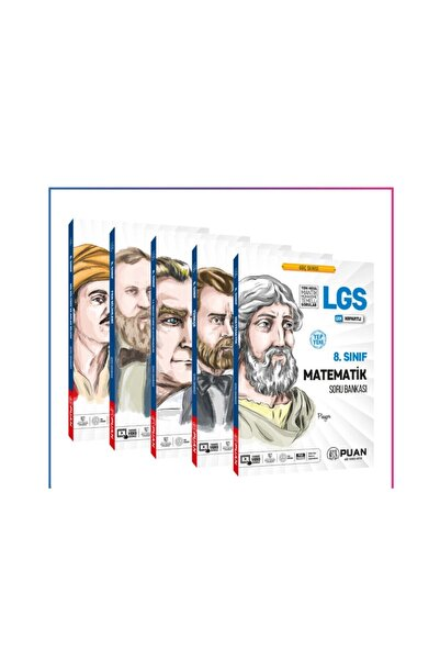 Sınav Yayınları Puan Yayınları 8. Sınıf Lgs Güç Serisi Soru Bankası 5'li Set
