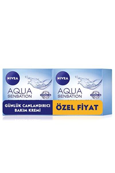 Nivea Normal ve Karma Ciltler İçin 2'li Canlandırıcı Bakım Kremi  Aqua Sensation 50 ml