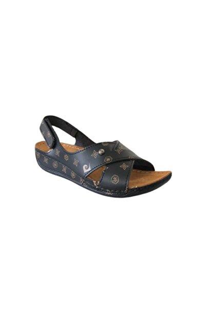 Pierre Cardin 6169 Siyah Kadın Günlük Sandalet