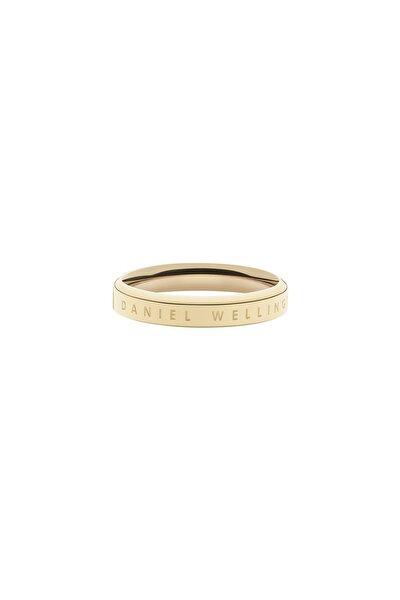 Daniel Wellington Classic Ring Yellow Gold  52 Çelik Yüzük