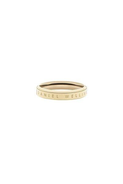Daniel Wellington Classic Ring Yellow Gold  48 Çelik Yüzük