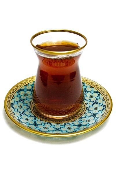 Paşabahçe 6 Kişilik Ağız Yaldız Varak  Çay Seti
