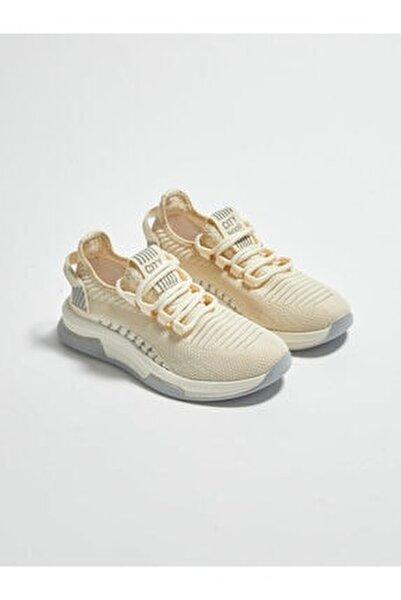 Kadın Kırık Beyaz Aktif Spor Ayakkabı
