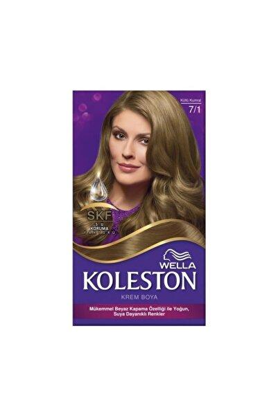 Koleston Wella Kit 7/1 Küllü Kumral Saç Boyası