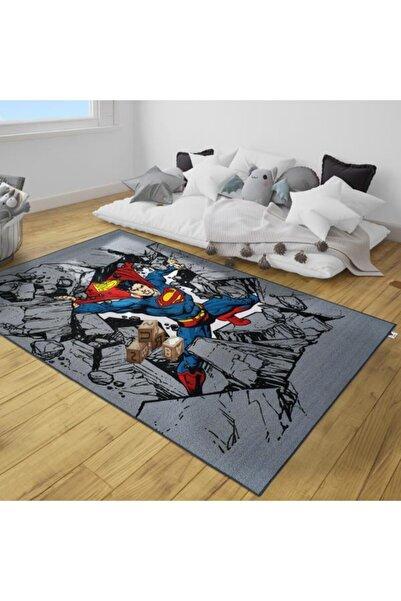 Dolce Vita Halı Nino 220 Superman, Çocuk Halısı - Antialerjik - Kaymaz Taban, 133x190