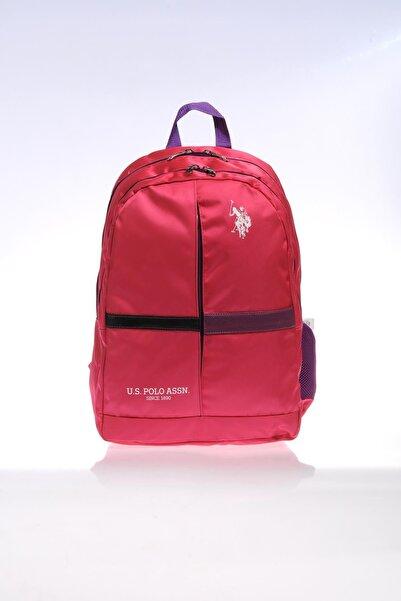 U.S. Polo Assn. Plçan9300 Pembe Kız Çocuk Okul Ve Sırt Çantası
