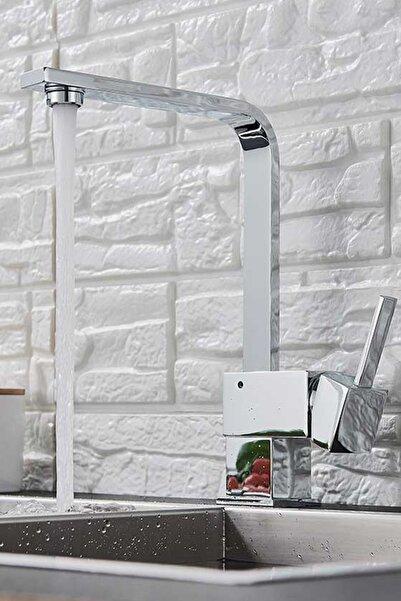 KUSTAR Mix Kare Eviye L Boru Mutfak Bataryası