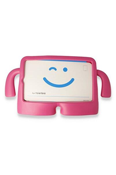 PHONACS Ipad Mini Uyumlu 1-2-3-4-5 7.9 '' Inç Standlı Silikon Tablet Kılıfı Pembe