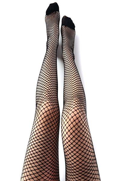 Desimo Kadın File Külotlu Çorap
