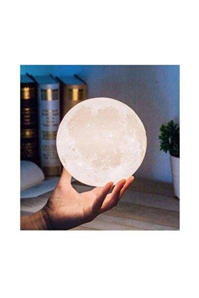 MANKAN 3D Ay Gece Lambası Dekoratif Küre Led Başucu Lambası