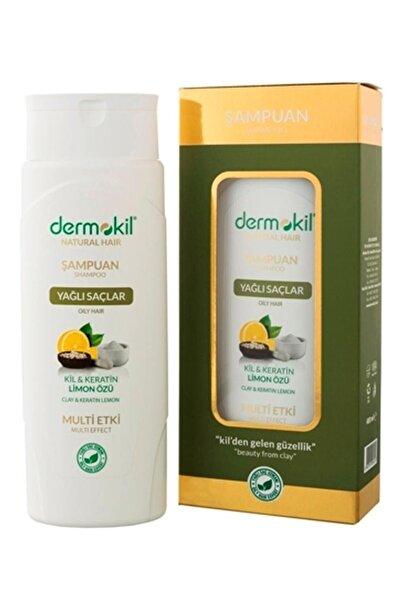 Dermokil Yağlı Saçlar için Limon Özlü Şampuan 400 ml 8697916004516