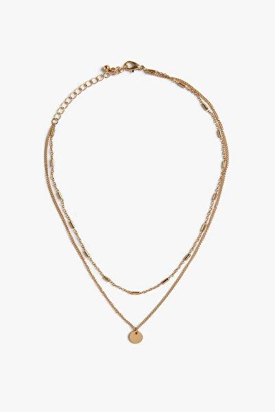 Koton Kadın Altın Bijuteri Kolye 0KAK71386OA