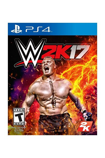 2K Games WWE 2K17 PS4 Oyun