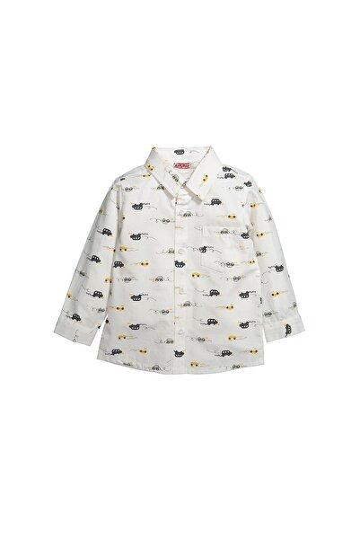 Zeyland Desenli Gömlek (12ay-4yaş)