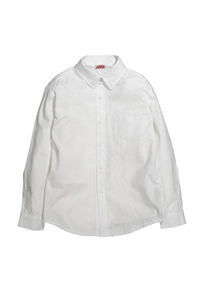 Zeyland Erkek Çocuk Beyaz Basic Gömlek