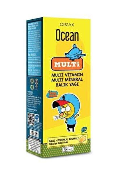 Multi Omega 3 Kral Şakir 150 ml Şurup