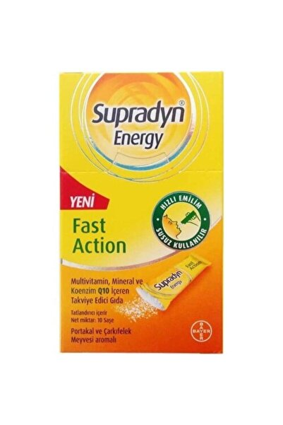 Supradyn Energy Fast Action 10 Saşe