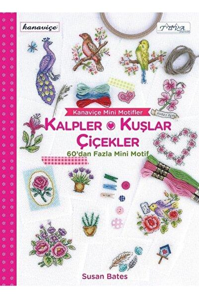 Tuva Yayıncılık Kanaviçe Mini Motifler - Kalpler, Kuşlar Ve Çiçekler - Susan