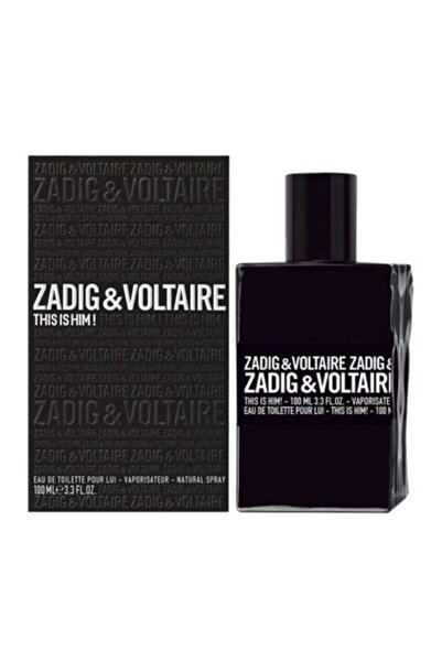 Zadig&Voltaire This Is Hım Edt 100 ml Erkek Parfüm 3423474896257