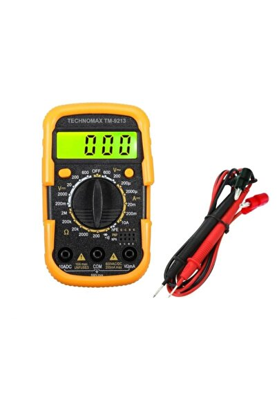 Technomax Tm-9213 Dijital Multimetre