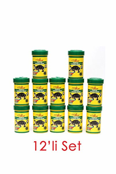Ahm Turtle Stick Green Food Otçul 100 Ml 12li Balık Yemi 8699375330557