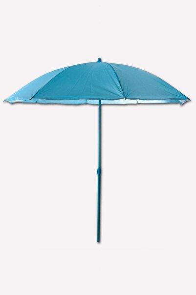 Sunfun Renkli 180 Cm Balkon, Bahçe Şemsiyesi Mavi