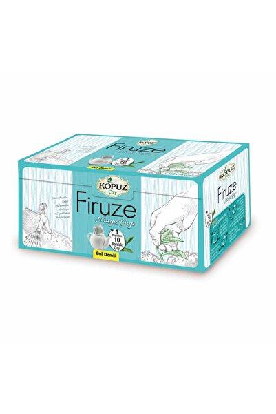 Kopuz Çay Firuze Premium 450gr Demlik Süzen 15gr X 30 Adet 4'lü Poşet Mayıs Çayı