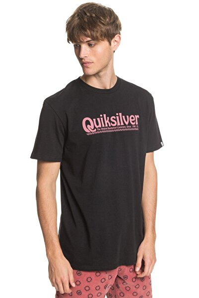 Quiksilver Erkek Siyah Tişört Eqyzt05754-kvj0