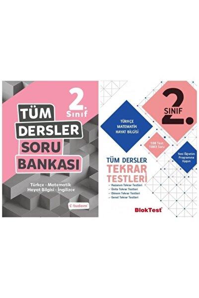 Tudem Yayınları 2.sınıf Tüm Dersler Soru Bankası + Bloktest Tekrar Testleri